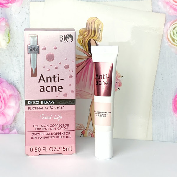 Емульсія–коректор Anti acne Bio World