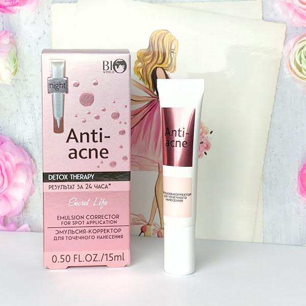Эмульсия–корректор Anti acne  Bio World