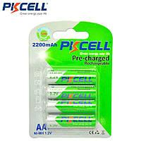 Акумулятори Батарейки Pkcell Ni-Mh AA 2200mAh упаковка 4шт. Оригінал