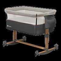 Универсальная детская кроватка 3 в 1 Lionelo LEONIE GREY STONE