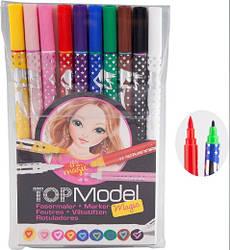 Фломастеры TOP Model - Набор цветных волшебных фломастеров 10 шт (ТОП Модел набор фломастеров 7899_B)
