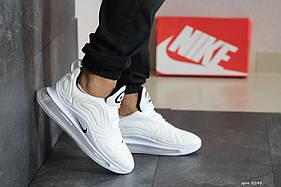 Мужские кроссовки Nike Air Max 720, белые / кросівки чоловічі Найк (Топ реплика ААА+)