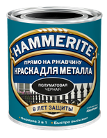 Краска «Hammerite» 0,7 л полуматовая  белая