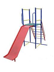 Гірка для дитячих майданчиків, металева.