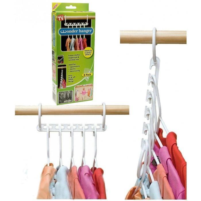 Вішалка для одягу 8 в 1 Wonder Hanger
