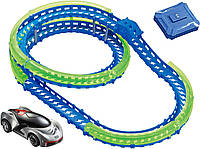 Трек  Wave Racers - Скоростная спираль (трек со спиралью, 1 сенсор. модель, заряд. уст-во)