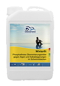 Зимний консервант для бассейна Winterfit Chemoform, 10 литров