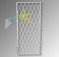 Решетка металлическая защитная на дверь