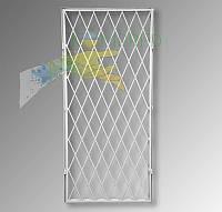 Решетка металлическая защитная на дверь, фото 1