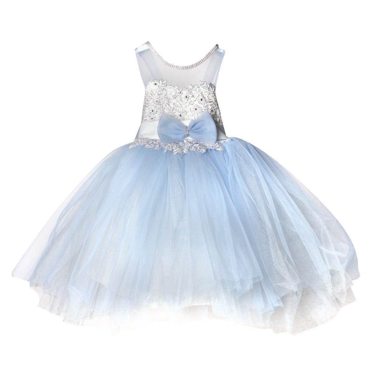 Нарядное платье для девочки, 2 года