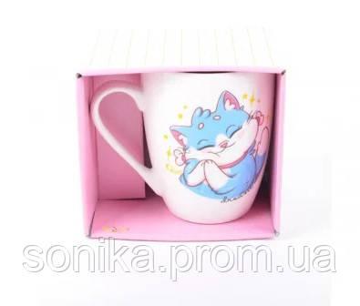 Чашка порцелянова в упаковці Cool Cats 350 мл 76706