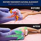 Ортопедична подушка для ніг Leg pillow contour legacy з ефектом пам'яті комфортного сну memory анатомічні, фото 2