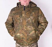 Куртка зимова на резинці Варан з капюшоном р. 48-58, фото 1