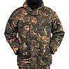 Куртка зимова довга Дубок з капюшоном р. 48-58