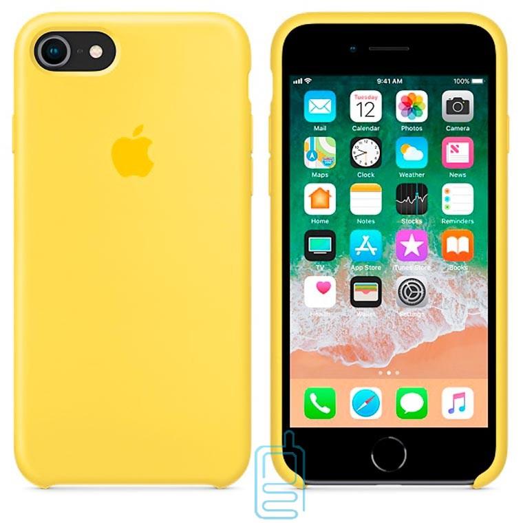 Чехол Silicone Case Apple iPhone 6, 6S желтый 28