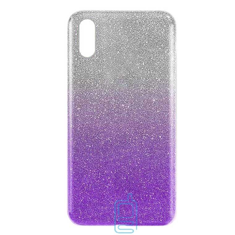 Чехол силиконовый Shine Huawei Y6 2019 градиент фиолетовый