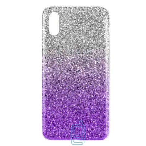 Чехол силиконовый Shine Huawei Y6 2019 градиент фиолетовый, фото 2