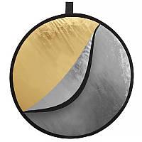 Фото отражатель-рефлектор Tianrui C001 диаметром 110 см 5 в 1 лайт диск