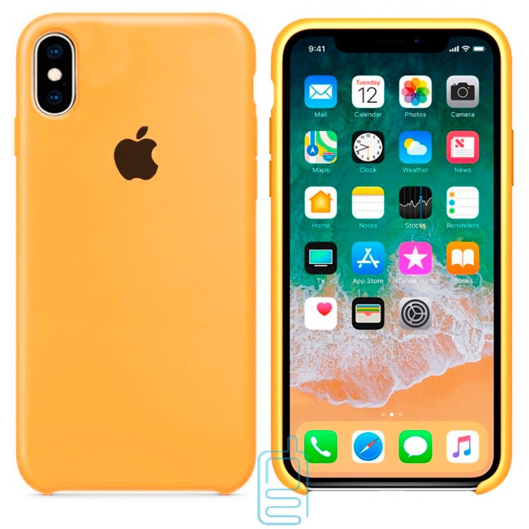 Чехол Silicone Case Apple iPhone XS Max песочный 29