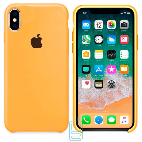 Чехол Silicone Case Apple iPhone XS Max песочный 29, фото 2
