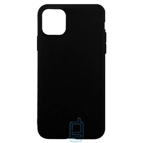 Чехол накладка Cool Black Apple iPhone 11 черный, фото 2