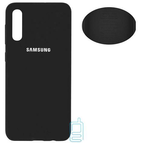 Чехол Silicone Cover Full Samsung A30s 2019 A307, A50 2019 A505, A50s 2019 A507 черный, фото 2