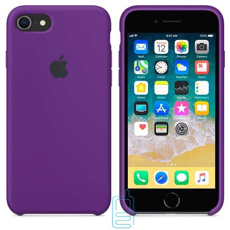 Чехол Silicone Case Apple iPhone 5, 5S фиолетовый 34