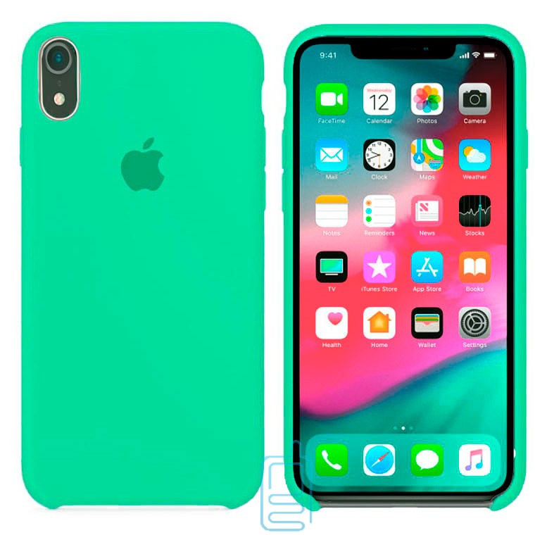 Чехол Silicone Case Apple iPhone XR бирюзовый 50