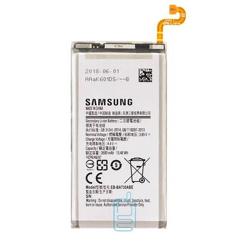 Аккумулятор Samsung EB-BA730ABE 3500 mAh A8 Plus 2018 A730 AAAA/Original тех.пак, фото 2