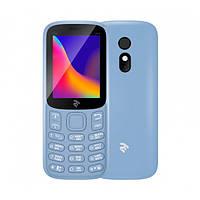 Мобільний телефон TWOE E180 2019 Dual Sim City Blue, фото 1