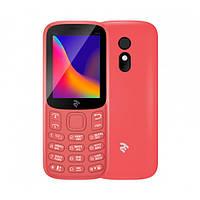 Мобільний телефон TWOE E180 2019 Dual Sim Red, фото 1