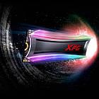 Жорстку диск внутрішній SSD 2000 GB ADATA S40G RGB PCIe Gen3x4 M. 2 2280 (AS40G-2TT-C), фото 4