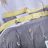Постельное белье Евро размер | Качественный фланелевый комплект постельного белья., фото 2