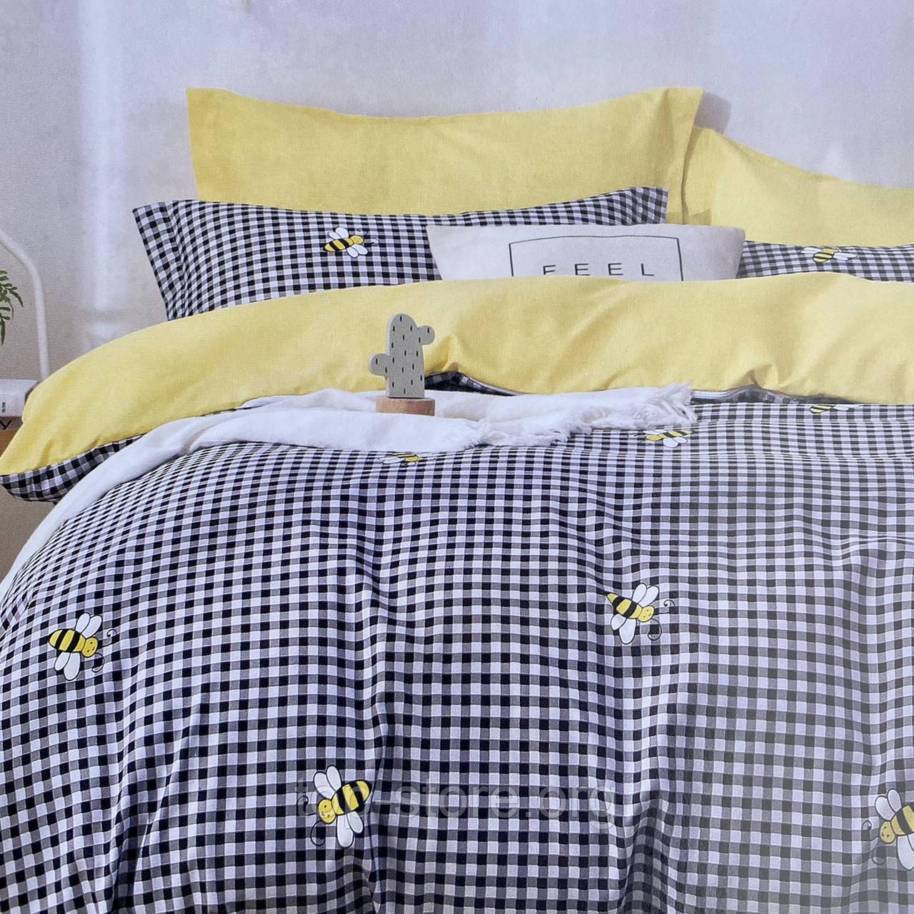 Постельное белье Евро размер | Качественный фланелевый комплект постельного белья.