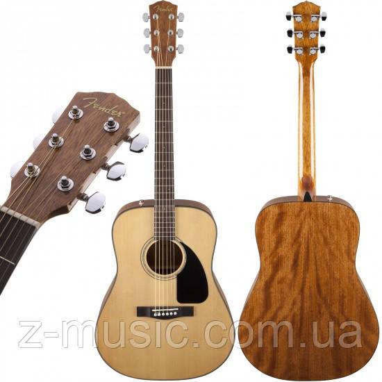 Гітара акустична FENDER CD-60 V3 WN NATURAL