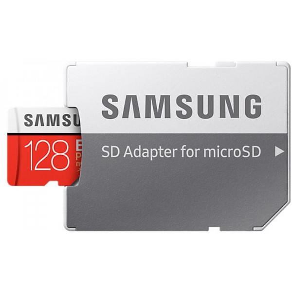 Карта памяті MicroSDXC 128Gb Class 10 Samsung Evo Plus V2 (MB-MC128HA/RU)