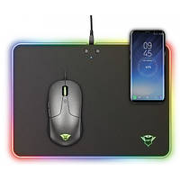 Trust GXT 750 Qlide RGB Gaming Mouse Pad with wireless charging, фото 1