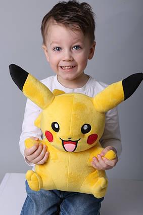 М'яка іграшка Покемон Пікачу ( Pikachu), м'яка плюшева велика іграшка Пікачу 50 см, ексклюзив