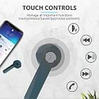 Навушники вкладиші безпровідні з мікрофоном Trust Primo Touch True Wireless (Blue), фото 2