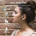 Навушники вкладиші безпровідні з мікрофоном Trust Primo Touch True Wireless (Blue), фото 4