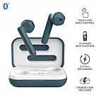 Навушники вкладиші безпровідні з мікрофоном Trust Primo Touch True Wireless (Blue), фото 6