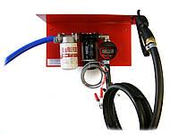 Мини АЗС 24В 50л/мин с электронным счетчиком для дизельного топлива ( насос Италия, счетчик Германия)