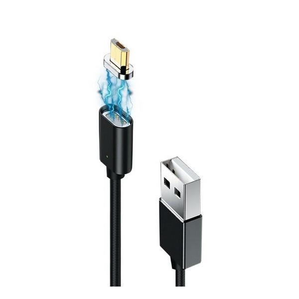 Кабель USB (тато) = microUSB (тато) 1 м Grand-X MG-01M Black