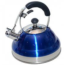 Чайник Giakoma G-3301 для газовых и электрических плит 3,5 л Синий