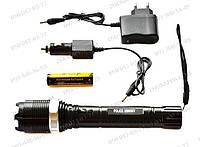 Электрошокер экстракласса фонарь с зумом Police 30000Кv Vip YB-1105 ( Light Flashligt BL-1105) Type (2015)