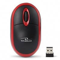 Мишка Esperanza TM116R Titanum Black/Red, фото 1