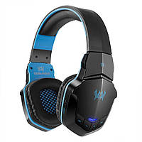 Беспроводные Bluetooth наушники Kotion Each B3505 с автономностью до 10 часов Черно-синий hpkotb3, КОД: