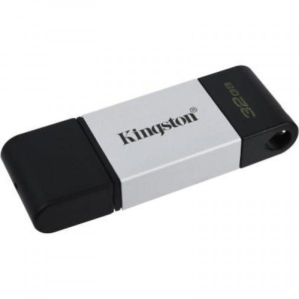 Флеш память 32 GB Kingston DataTraveler 80 USB 3.2/Type-C (DT80/32 GB)