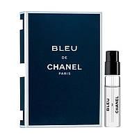 Chanel Bleu de Chanel, мужская туалетная вода, миниатюра 1.5 мл
