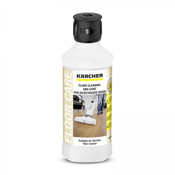Миючий засіб Karcher RM 535 для догляду за вощеними деревяними підлогами, 500мл